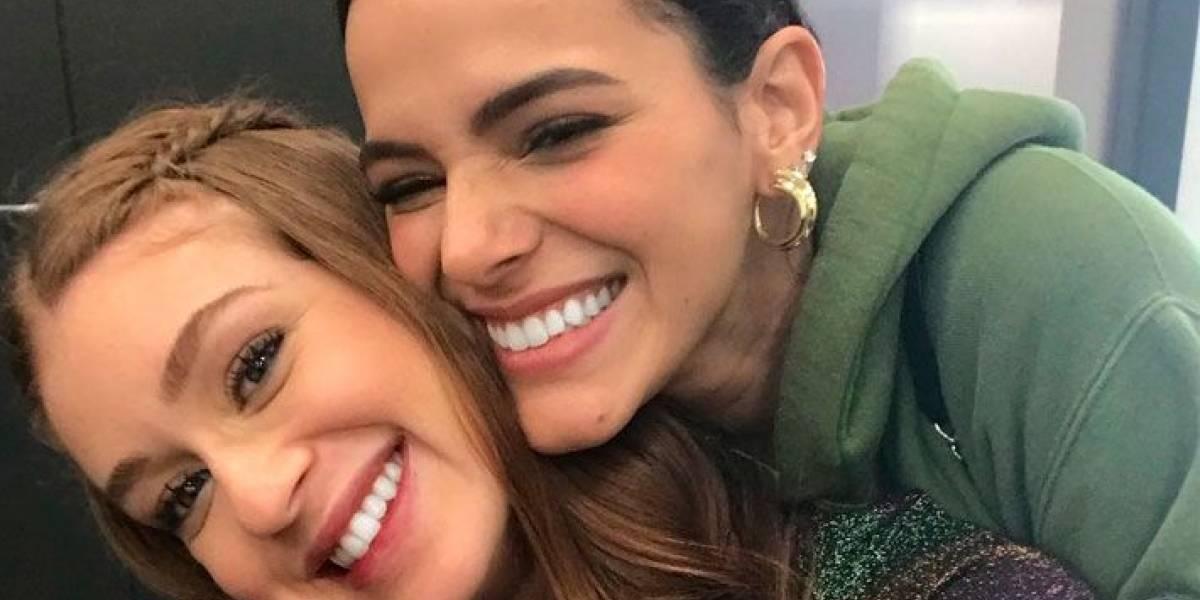 Marina Ruy Barbosa e Bruna Marquezine pedem paz aos fãs