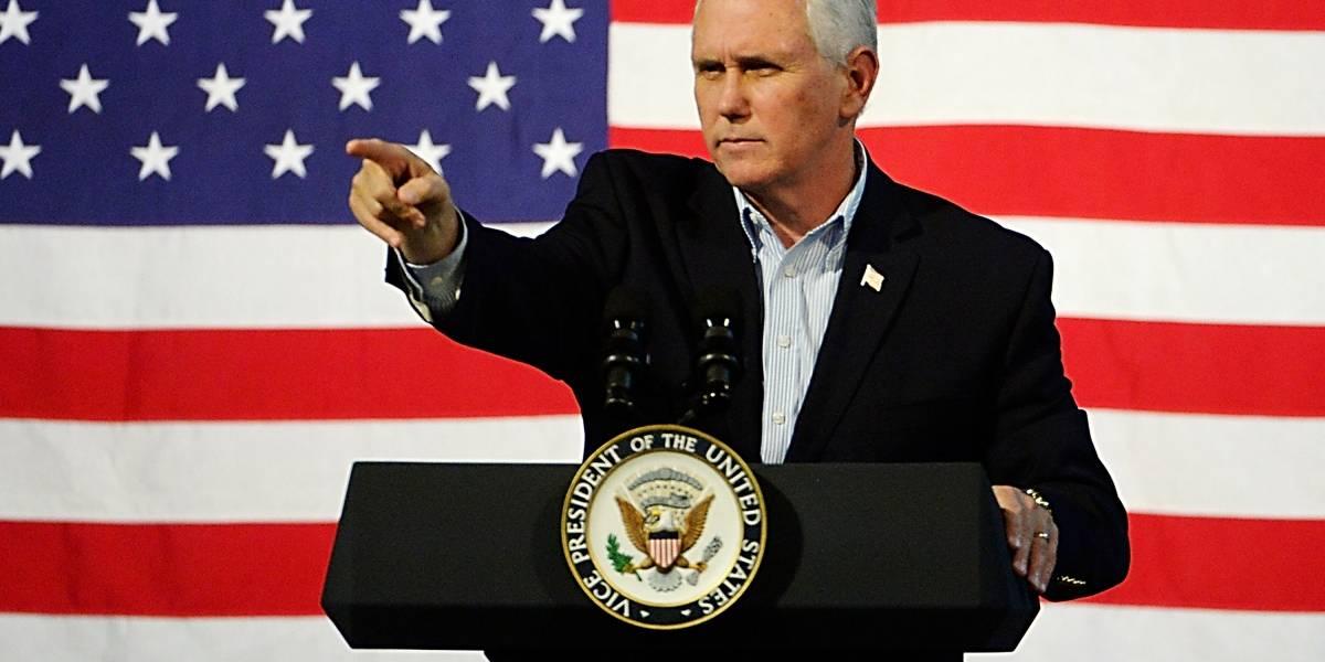 Líderes de Medio Oriente cancelan reuniones con Mike Pence, vicepresidente de EU