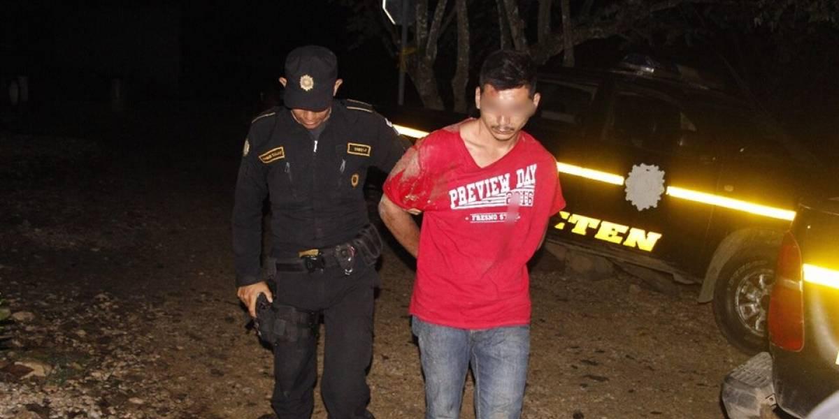 Capturan a hombre que robó y atropelló a una mujer