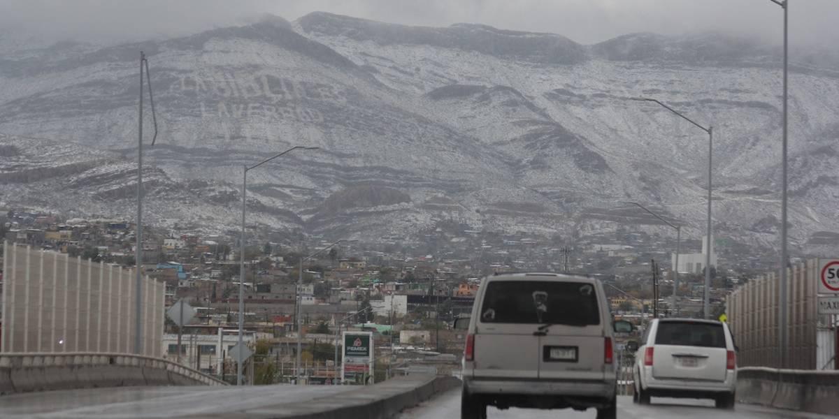 Seguirá la nieve en el Norte y en montañas del Centro del país