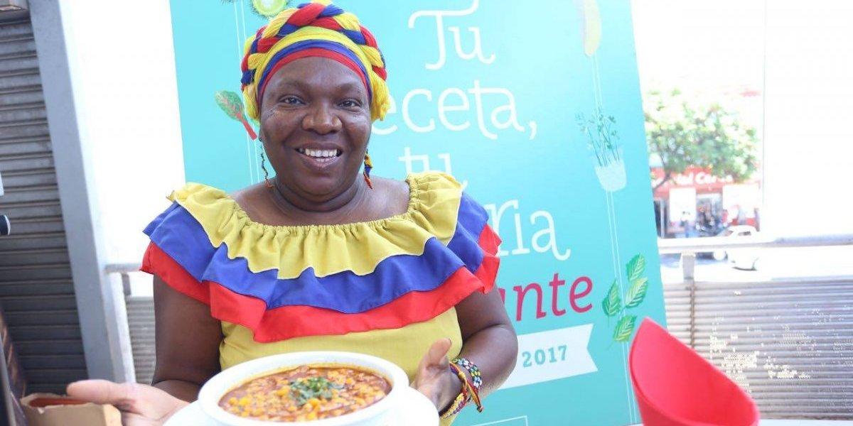 """""""Maíz empiedrao"""" de Colombia fue el ganador del concurso de gastronomía por el Día del Migrante"""