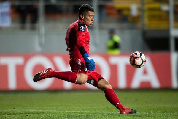 Brayan Cortés se quedó con la titularidad en Deportes Iquique tras una grave lesión que sufrió el experimentado Rodrigo Naranajo / Foto: Photosport