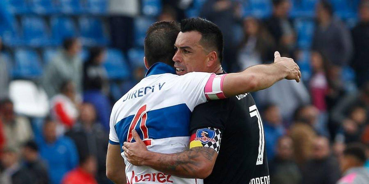 La UC dejó de lado la rivalidad para felicitar al Colo Colo campeón