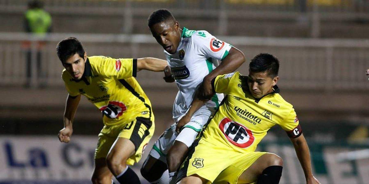 Audax Italiano empató con San Luis y aseguró el Chile 3 para la Sudamericana