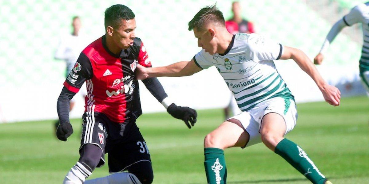 Santos y Atlas protagonizan brutal batalla campal en Final Sub-20
