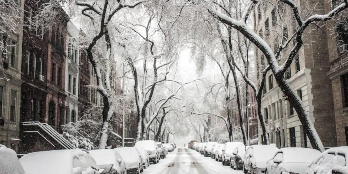 Boricuas pasan su primera nevada tras migrar del país