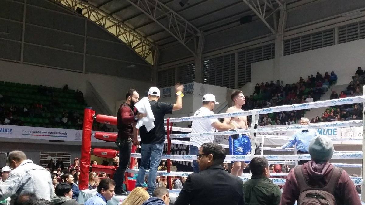 Nitro en su primer pelea en GDL.