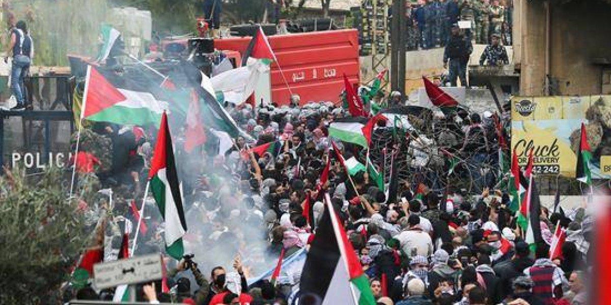 Se agudizan las protestas contra EEUU en la ciudad de Beirut