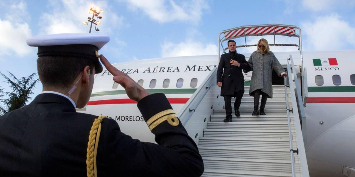 Peña Nieto arriba a París para participar en cumbre de la OCDE