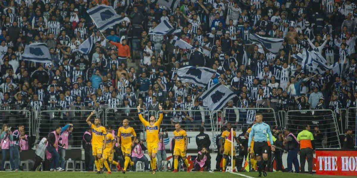 VIDEO: Afición de Rayados aplaudió el campeonato de Tigres