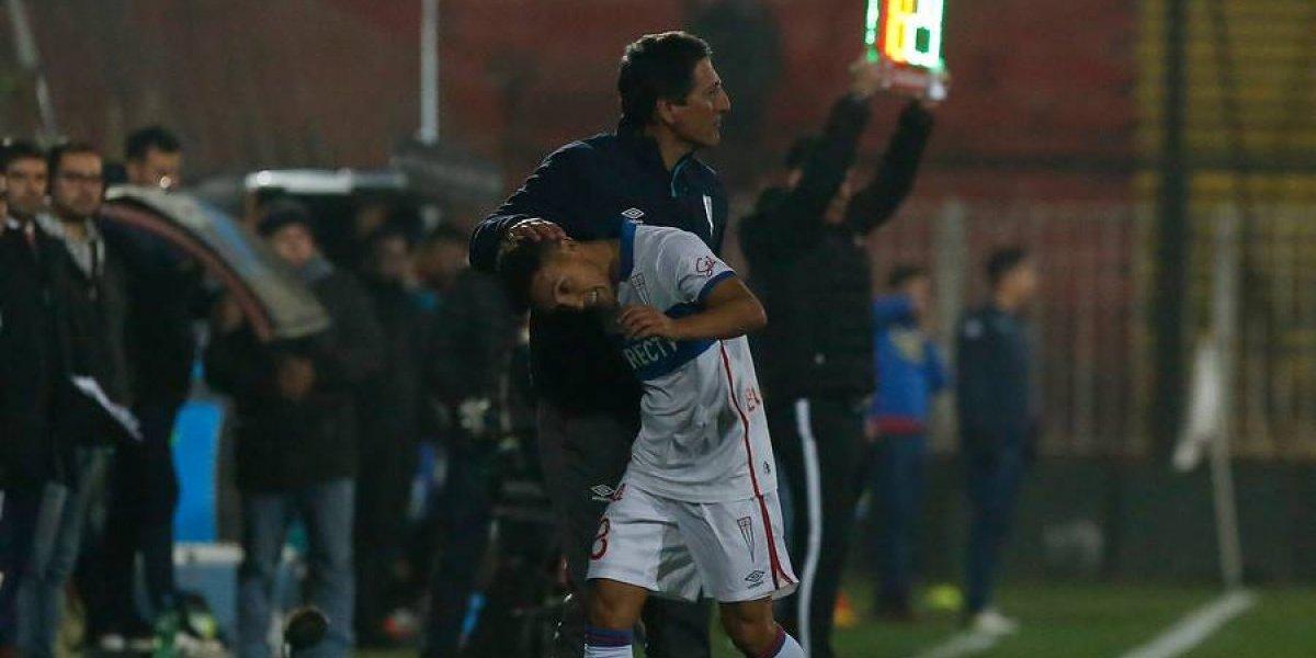 """Las emotivas palabras de Buonanotte a Salas: """"Gracias por haberme devuelto las ganas de disfrutar del fútbol"""""""