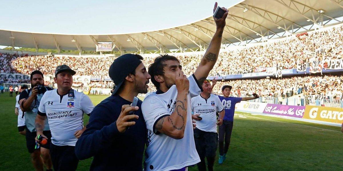 """""""Grandes payasos"""" y con cánticos a la U: Los palos de Jorge Valdivia tras el título de Colo Colo"""