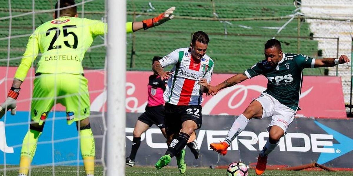 Así vivimos el discreto empate entre Palestino y Wanderers en La Cisterna