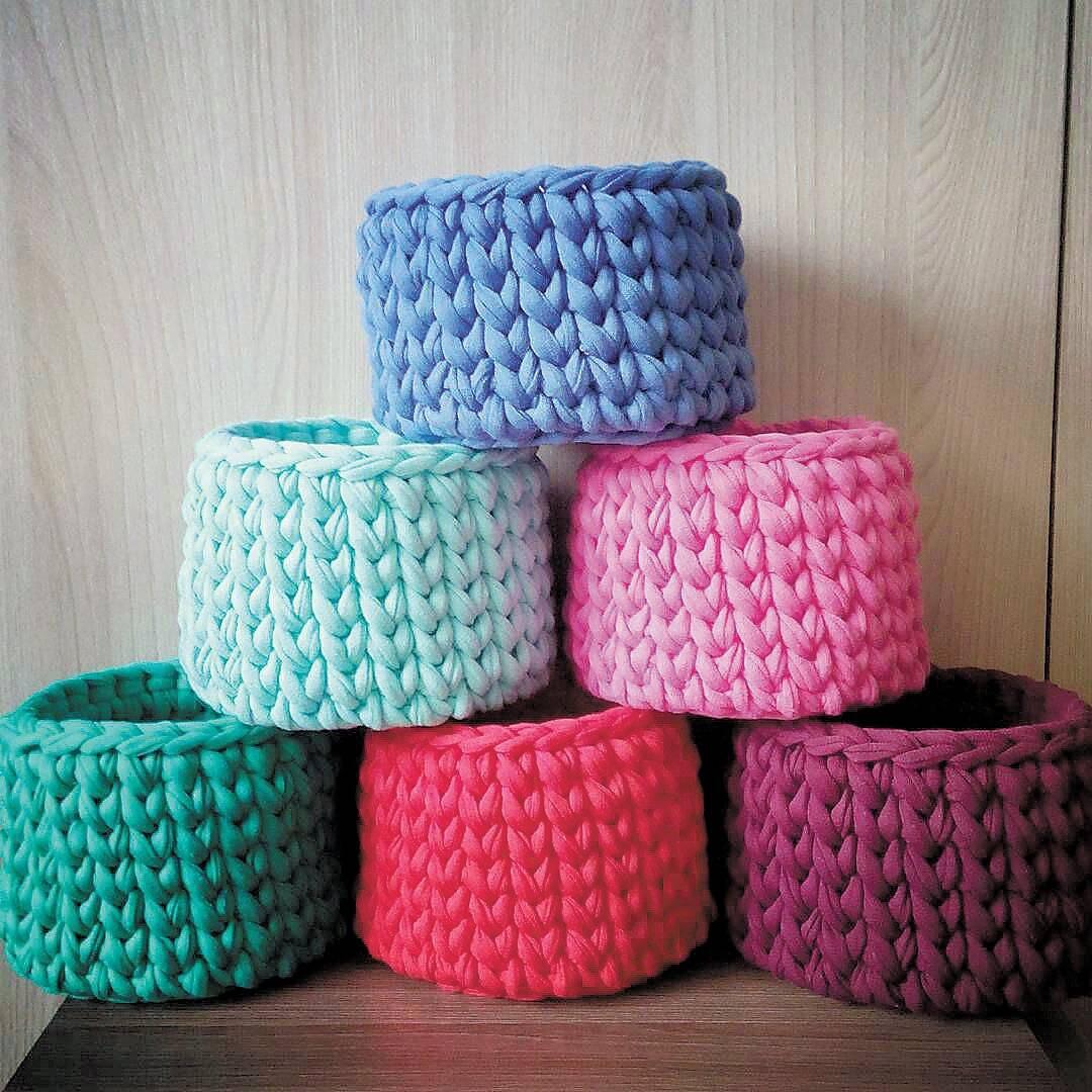 Cachepot de lã