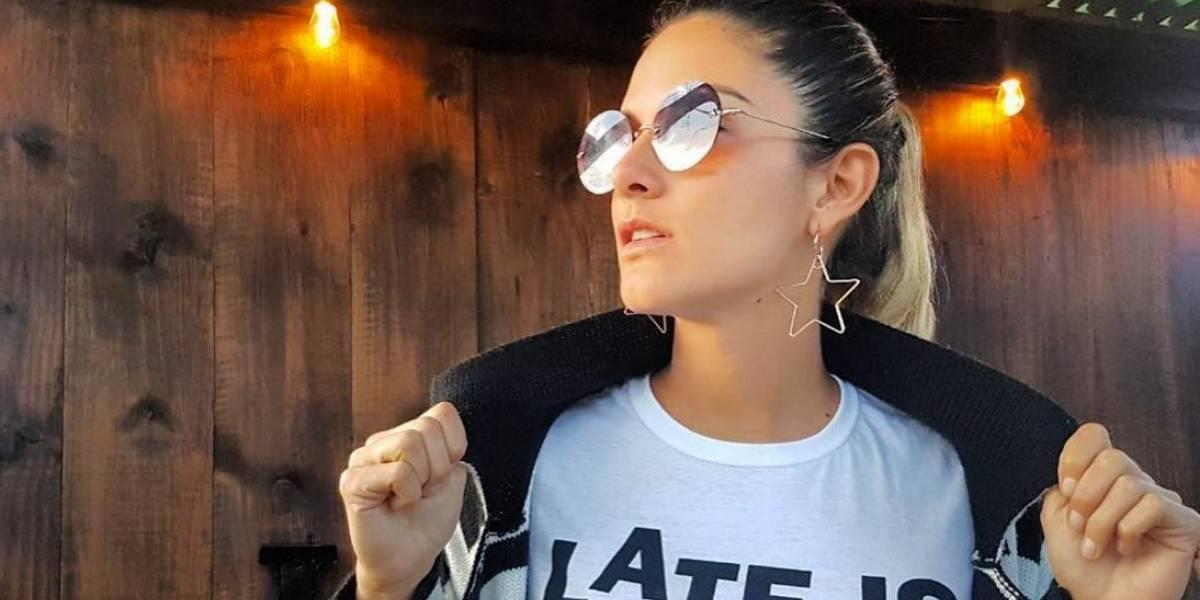 Natalia Jerez muestra su embarazo con sensual foto en ropa interior