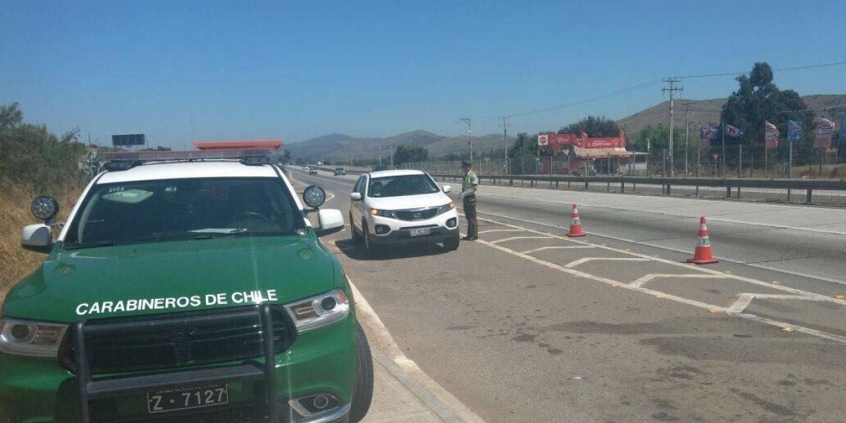Si maneja, nada de alcohol: Carabineros de Chile listo para dirigir retorno de 130 mil vehículos a Santiago