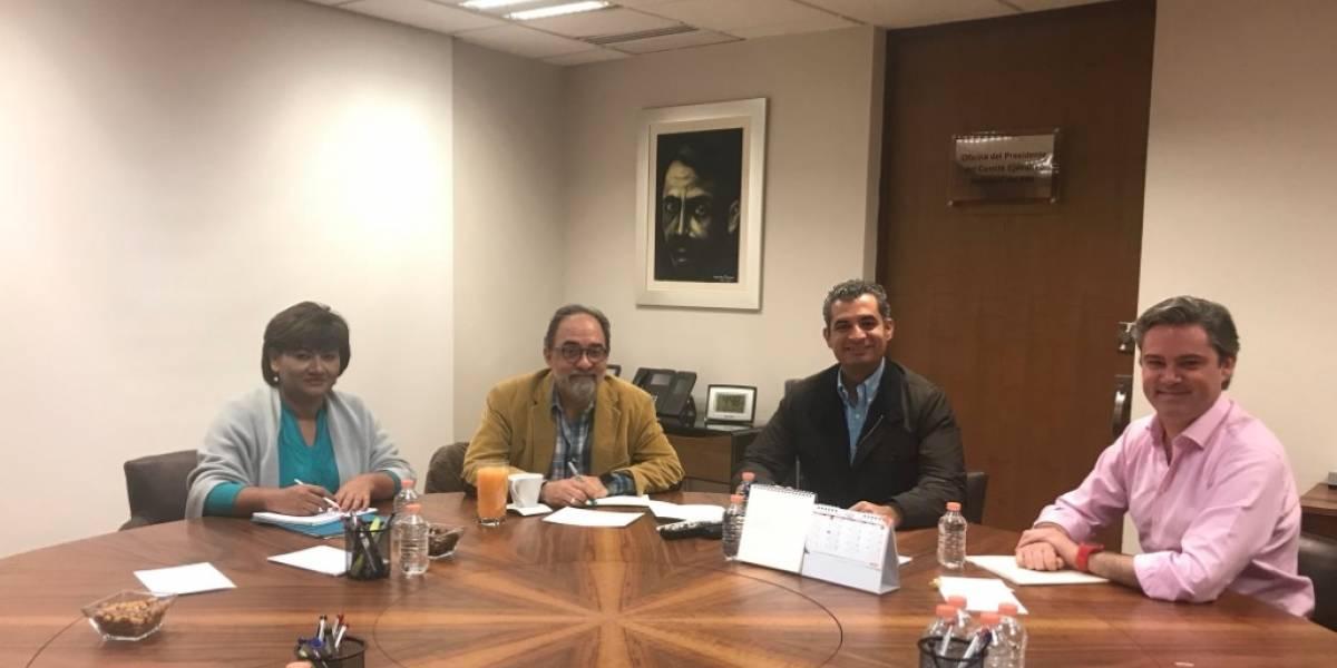 Nuño y Ochoa Reza se reúnen con Nueva Alianza con miras al 2018