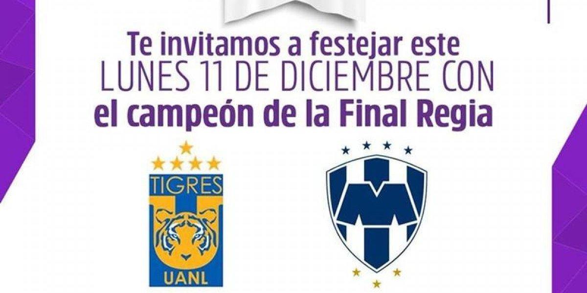 Afición de Tigres quedó inconforme por horarios para el desfile de campeón