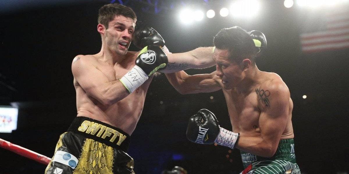 Así le quedó la oreja a este boxeador inglés por los golpes