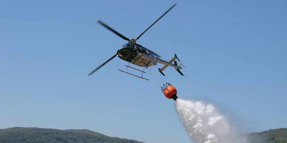 Onemi declara alerta amarilla en Cerro La Virgen y en Comuna la Estrella por incendios forestales