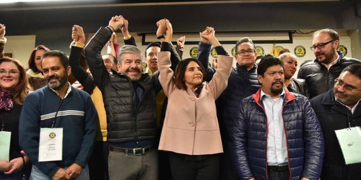 Barrales se registra como precandidata a la Jefatura de la CDMX