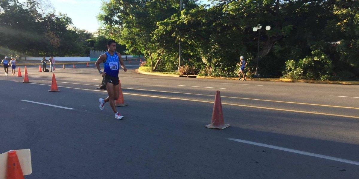 Erick Barrondo gana la medalla de oro para Guatemala en los Juegos Centroamericanos
