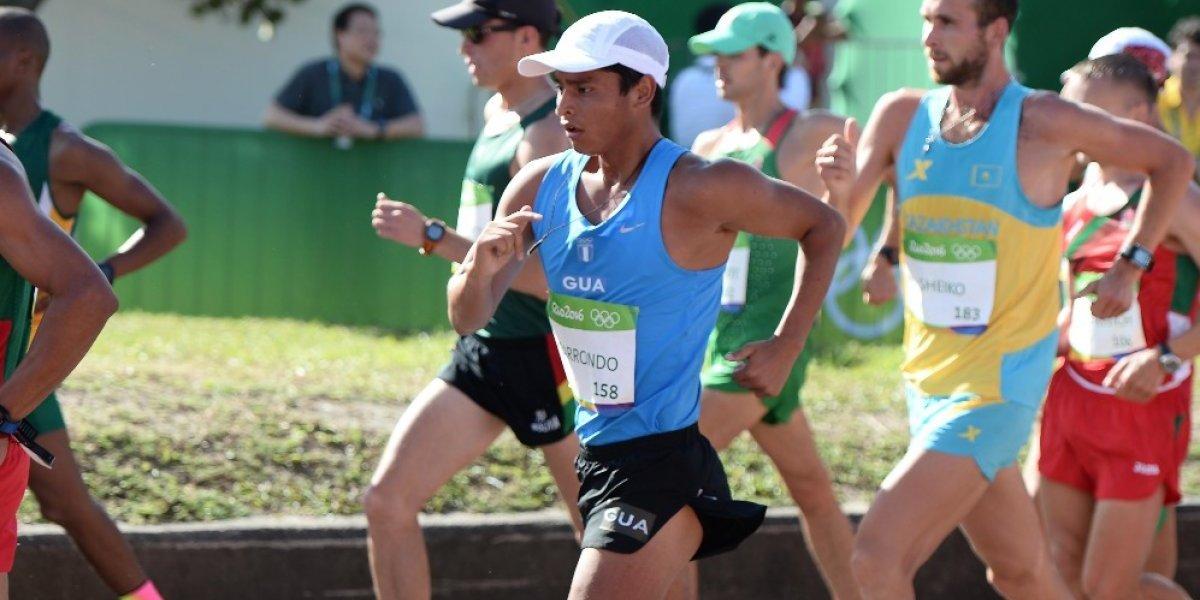 Barrondo causa expectativa cuando está a pocas horas de competir en Nicaragua
