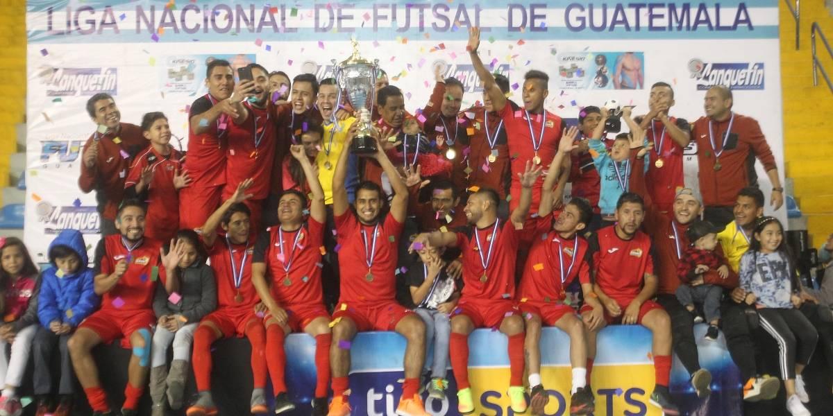 Glucosoral sigue con su hegemonía en el Futsal