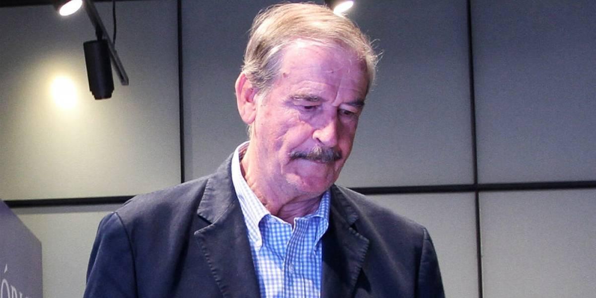 'Que Vicente Fox tan pend...', critica Madero halagos a Meade