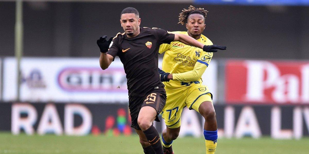 Roma no pudo ante el Chievo Verona y se reparten puntos