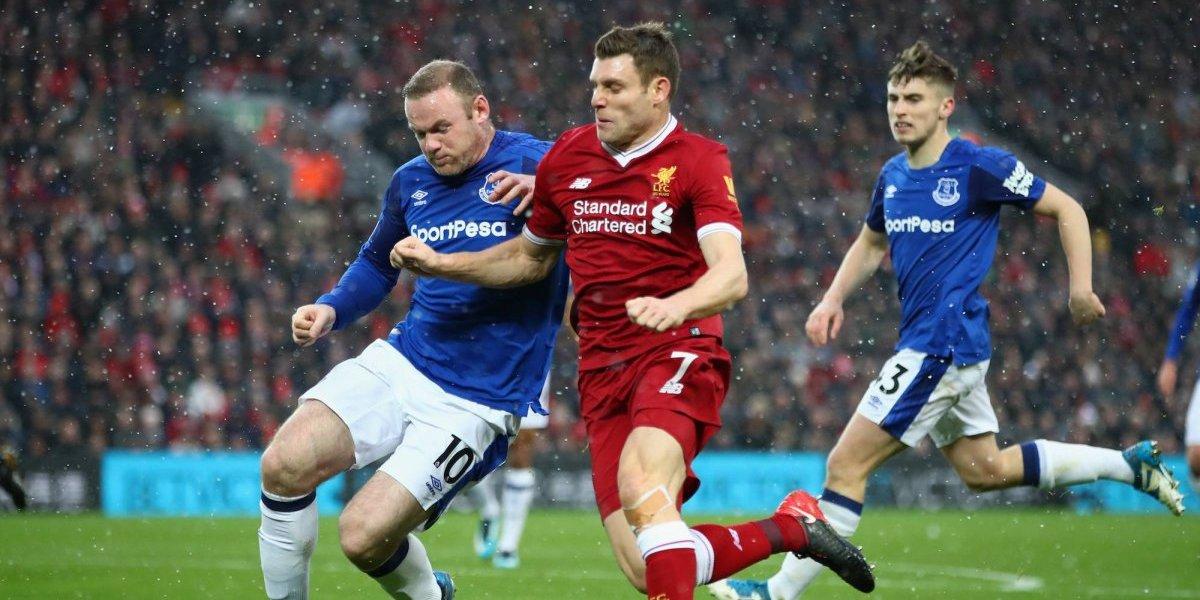 Rooney empató la pizarra ante el Liverpool