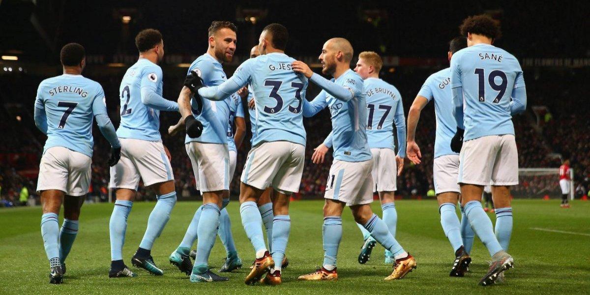 Manchester City sigue en la cima de la Premier tras victoria