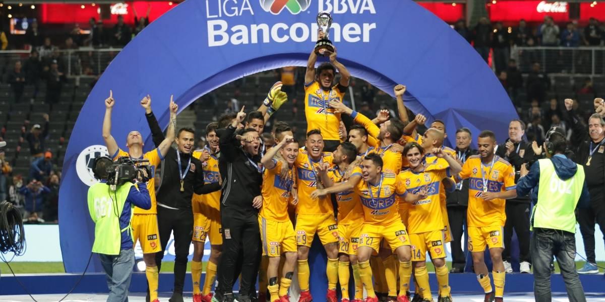 ¡Tigres obtiene su sexto título derrotando a Rayados!