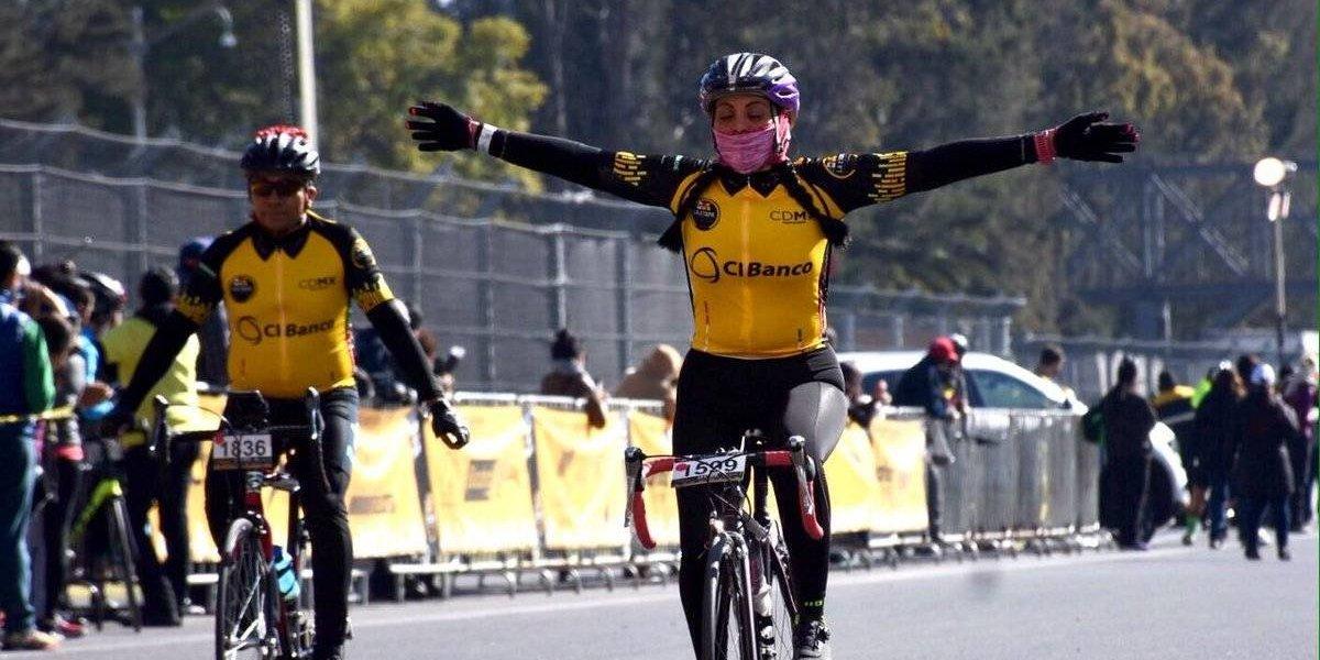 Etapa de la CDMX del Tour de Francia contó con más de tres mil ciclistas