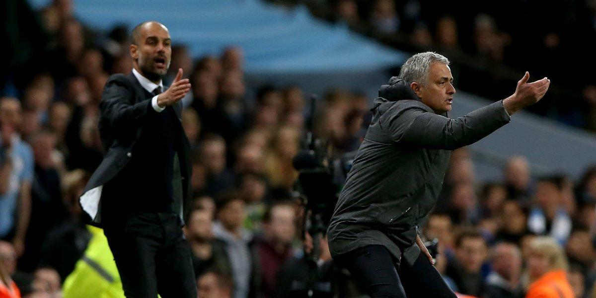 Nuevo capítulo de la rivalidad Mou-Pep en el derbi de Manchester
