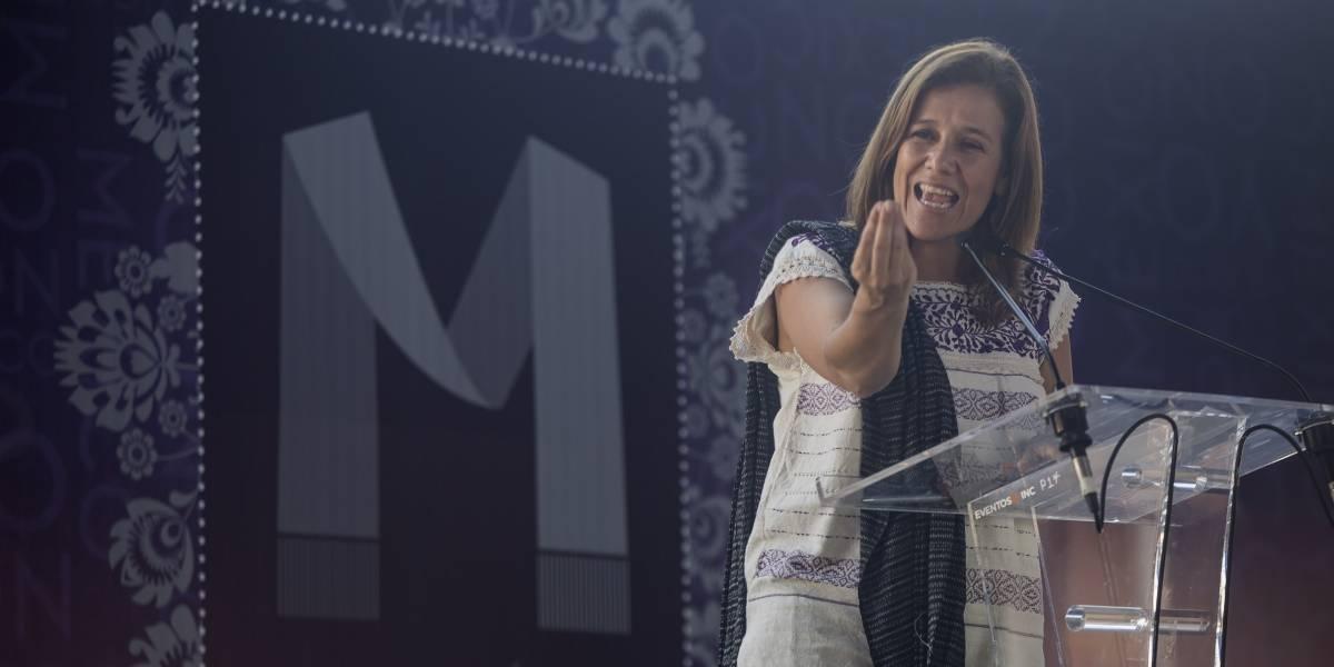 Margarita Zavala pide a los panistas rebelarse contra Anaya
