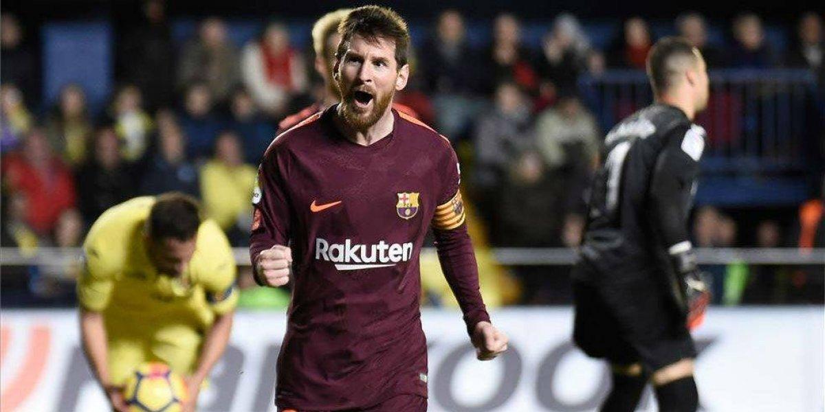 Messi iguala a Müller en el triunfo del Barcelona