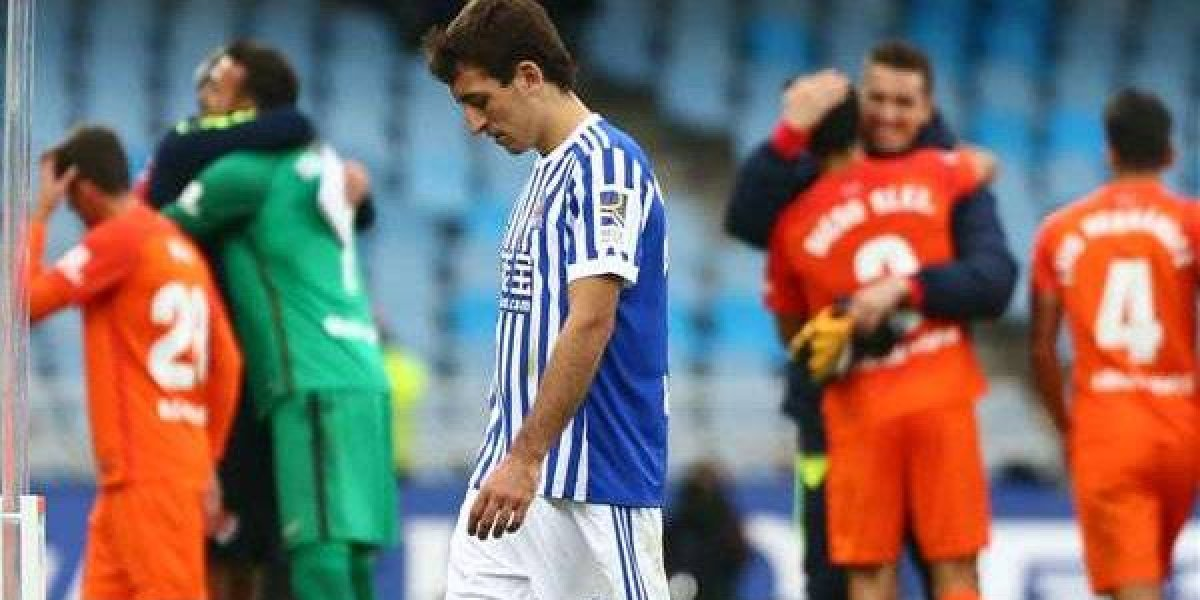 Real Sociedad y Vela sumaron su sexta derrota en la temporada