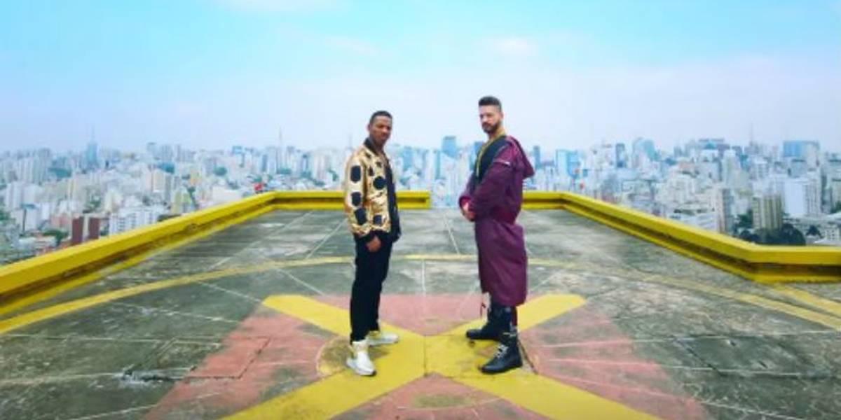 Com Ronaldinho Gaúcho, Maluma e Nego do Borel lançam clipe gravado em São Paulo