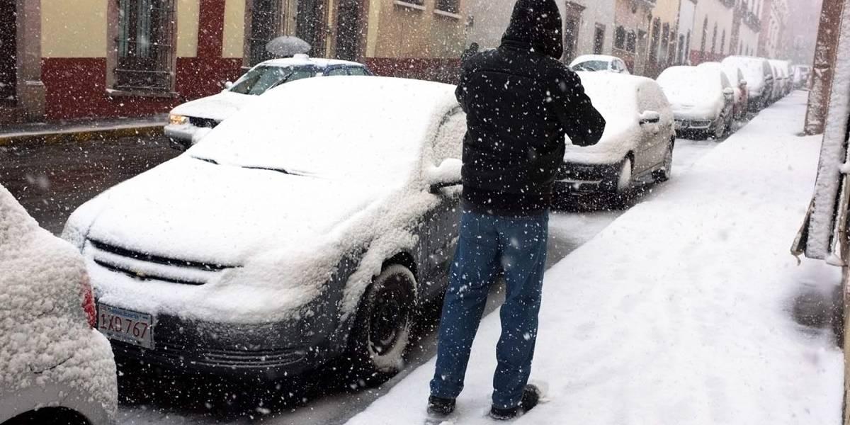 Persisten bajas temperaturas y heladas #Clima — Nuevo frente frío