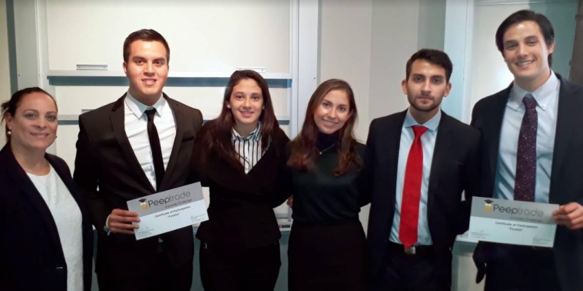 Universitarios guatemaltecos entre los primeros lugares de concurso internacional sobre inversión
