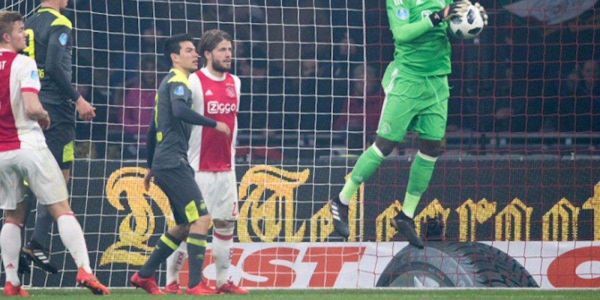 'Chucky' Lozano y el PSV sufren dolorosa derrota en clásico ante Ajax