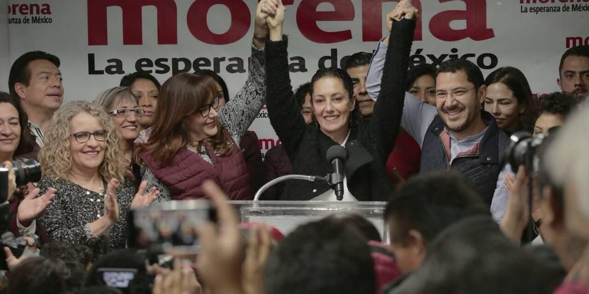 Claudia Sheinbaum se registra como precandidata de Morena