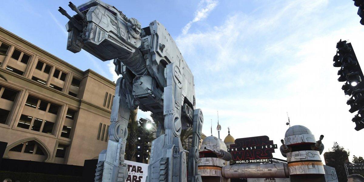 """Así fue el estreno de """"Star Wars: Los Últimos Jedi"""" en Los Ángeles"""
