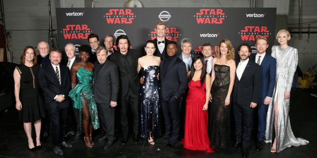 "Star Wars estrena en Hollywood la esperada ""The Last Jedi"""