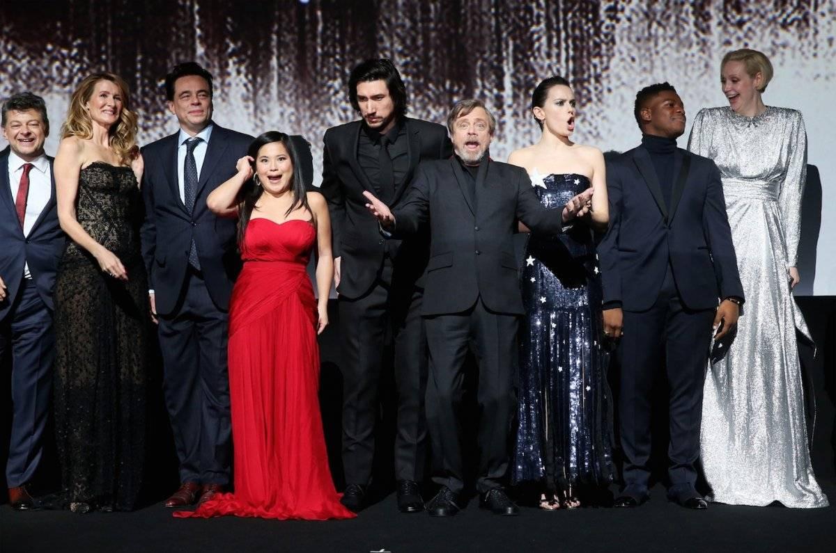 """Disney Pictures y Lucasfilm presentaron el estreno mundial de """"Star Wars: The Last Jedi"""", en The Shrine Auditorium, en Los Ángeles. Foto: AFP"""