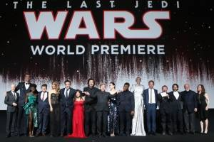 "Estreno en Hollywood de ""Star Wars: The Last Jedi"""