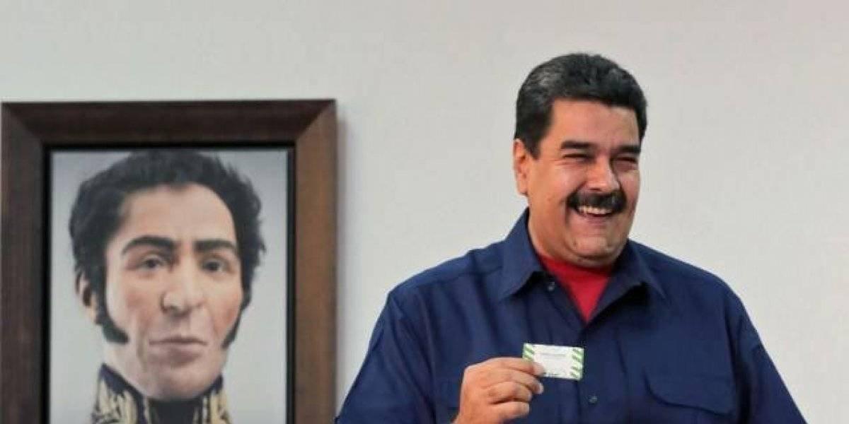 Maduro festeja tras triunfo en elecciones boicoteadas por la oposición