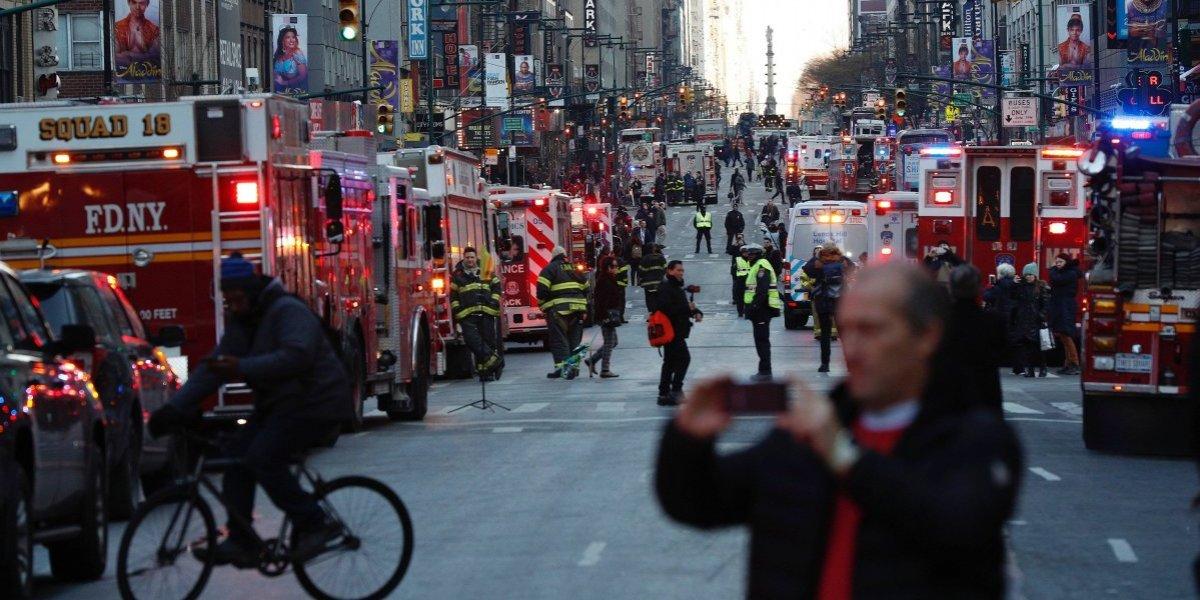 Interrogan familiares de sospechoso de atentado en N.Y.