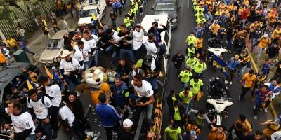 Festejo de Tigres/MEXSPORT